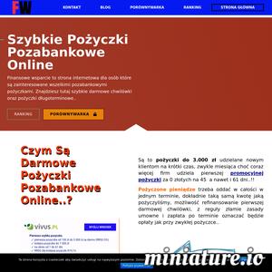 Pożyczki Pozabankowe Online to, szybkie chwilówki i pożyczki długoterminowe. Ranking, porównywarka, promocyjne pożyczki oraz blog z poradami i opisami .