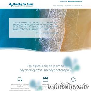 Gabinet Psychoterapii Healthy For Years oferuje pomoc w zakresie terapii analitycznej dla wszystkich tych, którzy potrzebują pomocy psychoterapeuty. Pomoc udzielona jest przez dyplomowanych, doświadczonych psychoterapeutów. Udzielamy pomocy każdemu, kto się do nas zgłosi. W leczeniu stosujemy metodę Terapii Psychoanalitycznej, która zakłada pogłębioną pracę, która nie każdemu odpowiada. Jednak terapia ta skłania pacjenta do przemyśleń i pracy nad sobą w taki sposób, aby po skończeniu terapii sam mógł niezależnie od terapeuty funkcjonować. Jednak zanim rozpoczniemy terapię, psychoterapeuta przeprowadza konsultacje z pacjentem. Jest to kilka spotkań poprzedzających psychoterapię lub stanowiących zamkniętą całość, podczas której można ocenić, co dla konkretnej osoby będzie najlepszą formą pomocy. Zapraszamy więc do zapoznania się z szczegółami na naszej stronie oraz do kontaktu.