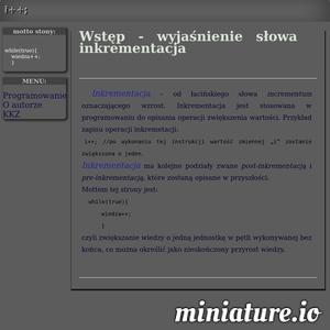 Programowanie, witryny internetowe, bazy danych, informatyk, nauka programowania, C++, Java, php, css, pętle, inkrementacja, instrukcje warunkowe