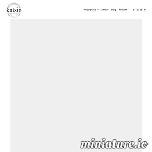Unikalne teksty na strony internetowe, artykuły sponsorowane, artykuły specjalistyczne. Profesjnalny copywriter. Teksty zgodne z zasadami SEO. Zapraszam! ./_thumb1/katsin.pl.png
