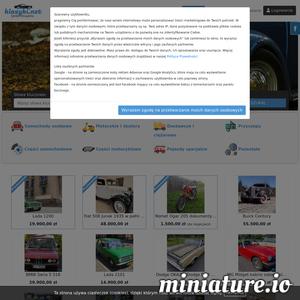 Klasyki.net to strona z darmowymi ogłoszeniami samochodów zabytkowych. Kupuj i sprzedawaj części do pojazdów zabytkowych. Darmowe ogłoszenie na 180dni, oraz 30 zdjęć.