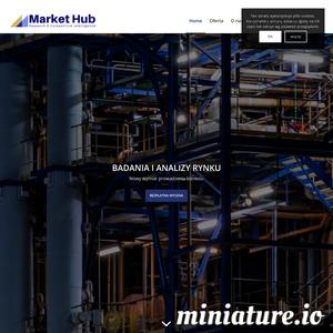 MarketHub dostarcza informacje i dane niezbędne w rozwoju przedsiębiorstw. Dla naszych klientów identyfikujemy potencjalnych partnerów biznesowych, weryfikujemy ich wiarygodność i badamy możliwość nawiązania współpracy.     Pracujemy dla małych i średnich firm, wspierając ich rozwój i internacjonalizację, np. w projekcie Go to Brand czy mBon Plus.  Więcej informacji o nas przeczytasz na markethub.pl. Kontakt z nami: info@markethub.pl