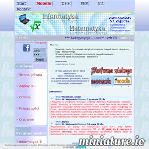 Pracownia programowania w językach C++, Python, Php i matematyki dla dzieci i młodzieży w Kielcach