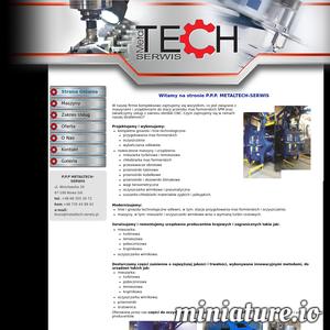 Metaltech Serwis to firma zajmująca się modernizacją oraz serwisowaniem maszyn i urządzeń wykorzystywanych w przerobie mas formierskich a także świadczeniem usług z zakresu obróbki skrawanej (inaczej nazywanej obróbką CNC).  W ofercie przedsiębiorstwa znajdują się również części zamienne do mieszarek turbinowych oraz oczyszczarek. Metaltech Serwis kultywuje tradycje zakładu Technical Nowa Sól, który był pionierem w zakresie odlewnictwa i branży przemysłu ciężkiego.