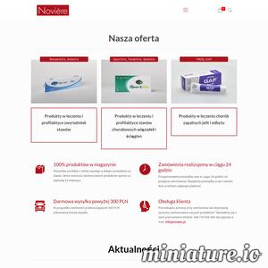 Jesteśmy oficjalny dystrybutorem szwajcarskiej nowości na polskim rynku. W naszej ofercie znajdą państwo żel na hemoroidy, tabletki pomagające w chorobach stawów, wiązadeł czy odbudowujące chrząstki stawowe oraz żel ułatwiający połykanie tabletek w przypadku dysfagii. Wszystkie nasze produkty posiadają certyfikaty i są produkowane przy zachowaniu najwyższej staranności i doborze najlepszych składników.