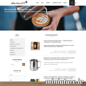 Sklep z kawą - producent świeżo palonej kawy ziarnistej i mielonej. Korzenie naszej działalności w sektorze kawy sięgają początków lat dziewięćdziesiątych. Zawsze priorytetem było dla nas zadowolenie klienta. Naszą misją jest dostarczanie wysokiej jakości produktów i zwiększanie świadomości kawy. Nasze piece prażyły ziarna z różnych stron świata, a technolodzy tworzyli mieszanki dedykowane zarówno smakoszom, delektującym się każda kroplą, jak i konsumentom, którzy nie wyobrażali sobie dnia bez rytualnej filiżanki gorącego i aromatycznego napoju