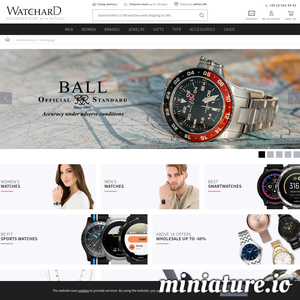 Having these customers in mind came Watchard.com - online store offering men\'s, women\'s and children\'s watches of many popular brands. We cordially invite you to look around and read the full offer of our online and stationary Watchard store.