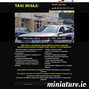 Taxi Wisla, przewóz osób, tel. 665 266 999, tanie taxi Wisła zaprasza 24 h na dobę