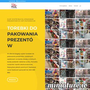 Firma W&K Radom poleca swoje wyroby papiernicze, głównie estetyczne niebanalne ciekawe wzorniczo artykuły do pakowania prezentów przede wszystkim z papieru niewielka część z tworzywa sztucznego. Zapewnia dystrybucję artykułów papierniczych do pakowania prezentów, torebki papierowe okolicznościowe, z nadrukiem okienkiem. Główny obszar działania to Radom, Warszawa, dostawa towaru w całej Polsce tel. 600089880 ciekawe niebanalne stylizacje, sprawdź koniecznie!