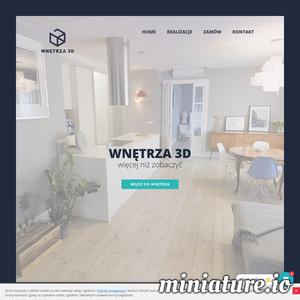 Wnętrza 3D to więcej niż zwykła panorama i popularne aplikacje do przeglądania otoczenia. To połączenie w pełni realistycznego obrazu z niezwykłą funkcjonalnością. Intuicyjna nawigacja zapewnia możliwość poruszania się po wnętrzu, co pozwala poczuć jego unikalny klimat bez wychodzenia z domu. Innowacyjna technologia 3D umożliwia nam tworzenie modeli mieszkań i domów, restauracji, obiektów sportowych oraz innych zamkniętych przestrzeni użytkowych, np. kabin jachtów. Nasze modele są dostępne w dowolnej przeglądarce, na dowolnym urządzeniu, w dowolnym miejscu i czasie. W każdej chwili można się przenieść do wybranego wnętrza. Dzięki pasji i doświadczeniu możemy jako pierwsi w Polsce podzielić się tą nowoczesną technologią. Projekty wykonywane są szybko, dogodnie i w wysokiej jakości. Dopasowujemy się do indywidualnych potrzeb klienta.