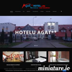 Hotel Agat** mieści się w Bydgoszczy przy ul. Nad Torem 17 (trasa E25 kierunek Koszalin) u zbiegu ulic Małgorzaty Szułczyńskiej i Kuczmy. Jest to firma rodzinna od trzech pokoleń w branży gastronomicznej i od 25 lat w branży hotelarskiej. Posiadamy wykształcenie kierunkowe oraz wieloletnie doświadczenie z zakresie świadczonych usług.  Obiekt – jego pierwsza część- powstał w 2008 roku. II i III etap budowy został zakończony we wrześniu 2016 roku. Do dyspozycji Gości są 42 pokoje o metrażu od 14 do 25m2 oraz 2 apartamenty . W każdym  pokoju znajduje się łazienka (suszarka do włosów, zestaw kosmetyków-żel do kąpieli, szampon), telewizor z płaskim ekranem, biurko, telefon, woda mineralna.