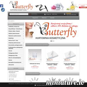 Hurtownia kosmetyczna Butterfly specjalizuje się w sprzedaży wysokiej jakości artykułów jednorazowych dla kosmetyki oraz kosmetyków znanych renomowanych firm. Zaopatrujemy w nasze produkty wiele gabinetów kosmetycznych na terenie śląska i nie tylko. W ofercie naszej hurtowni znajdziesz m.in. produkty takich marek jak: Bielenda, Hairplay, RefectoCil, Zarys oraz Ziaja. Oprócz kosmetyków, nasz szeroki asortyment produktów zawiera też różnego rodzaju akcesoria kosmetyczne, a wśród nich: pilniki, jednorazowe rękawice ochronne, bloki ścierne, podkłady medyczne, henny do brwi i rzęs, a także wiele innych produktów które stosowane są codziennie w wielu profesjonalnych gabinetach kosmetycznych i spa. Nasza hurtownia znajduje się na terenie śląska w miejscowości Rydułtowy, przy ulicy Ofiar Terroru 77. Zachęcamy serdecznie do współpracy i zapoznania się naszym szeroką ofertą produktów.