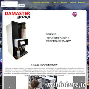 Mastercup oferuje kompleksowe rozwiązania serwisowe automatów vendingowych na rynku Europejskim. ./_thumb1/www.damastergroup.com.png