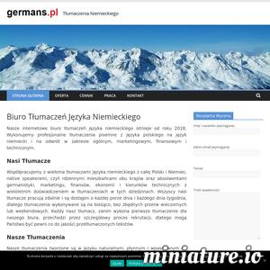 Szukasz tłumacza niemieckiego ? Wykonujemy profesjonalne tłumaczenia polsko-niemieckie i niemiecko-polskie ogólne, marketingowe, finansowe i techniczne.