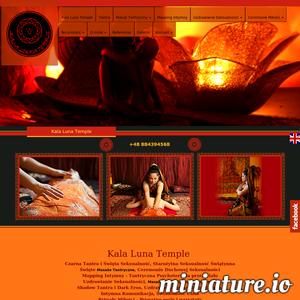 Zapisz się koniecznie na masaże energetyczne do dyplomowanej mistrzyni tantry. W ciszy oraz spokoju, na wygodnym materacu, możesz poczuć uwolnienie energii i pozbędziesz się lęków oraz ograniczających barier. Nie istotne czy jesteś kobieta czy mężczyzną. Każdy może skorzystać z dobrodziejstw energetycznego masażu w świątyni tantry Kala Luna Temple.