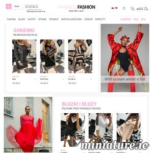 Sklep Internetowy Paparazzi Fashion to sklep oferujący swoim klientkom bogaty asortyment odzieży damskiej. W ofercie posiadamy bogaty wybór: spódnic, spodni, sukienek. Sklep PaparazziFashion powstał dzięki kobiecie z myślą o kobietach i dla kobiet. Oferujemy najlepsze światowe i polskie marki, gwarantujemy niepowtarzalny styl, kolory i fasony. W ubraniach z naszej kolekcji poczujesz się elegancko, zmysłowo i pewnie. Zadowolenie naszych Klientów jest dla nas sprawą najważniejszą, dlatego też dokładamy wszelkich starań, aby zamówienia były realizowane błyskawicznie, a oferowany towar był najwyższej jakości. Dzięki naszemu zaangażowaniu oraz pasji, zakupy w naszym sklepie internetowym stają się czystą przyjemnością.