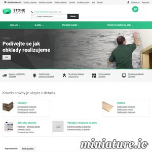 Stone Gallery je online obchod s kamennou prodejnou v Praze, který se specializuje na prodej kamenných, cihlových, sádrových i betonových obkladů a dlažeb. Navštivte nás.
