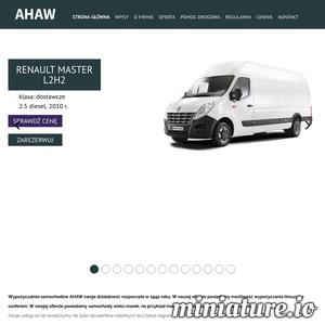 Nasza wypożyczalnia samochodów AHAW działa na rynku od 1992 roku oferując możliwość wypożyczenia samochodów wielu marek oraz luksusowych limuzyn z szoferem. Swoje usługi kierujemy zarówno do klientów krajowych jak i zagranicznych. Znajdujemy się 150 metrów od dworca PKP, co stanowi duży atut i wygodę dla potencjalnych klientów. AHAW to firma z wieloletnim doświadczeniem gwarantująca usługi najwyższej jakości. Pomagamy w znalezieniu idealnego samochodu zastępczego wsłuchując się dokładnie we wszystkie sugestie klienta. Jeśli samochód jest niezbędny do pracy, firma ubezpieczeniowa pokrywa koszty związane z wypożyczeniem samochodów. Na uroczyste okazje (śluby, studniówki) umożliwiamy wypożyczenie limuzyn wraz z szoferem.  Z naszej oferty mogą skorzystać osoby pełnoletnie, które ukończyły 21 lat i posiadają ważne prawo jazdy. Dowód osobisty i/lub inny dokument potwierdzający tożsamość klienta są także niezbędne, aby wypożyczenie samochodu było możliwe.  Wypożyczamy samochody na określon ./_thumb1/www.wynajemsamochodowolsztyn.pl.png
