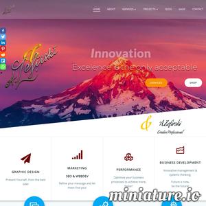 zefirski internet marketing specialist seo pozycjonowanie projektowanie stron www